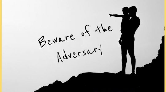Beware of the Adversary - Job 1:6-12