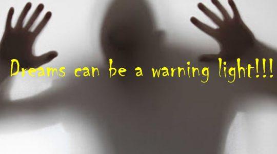 Dreams can be a warning light - Genesis 40:9-19