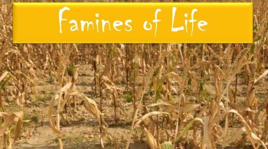 Famines of Life - Genesis  42:1-10