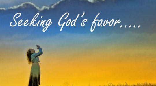 Seeking God's Favor - Genesis 39:1-6