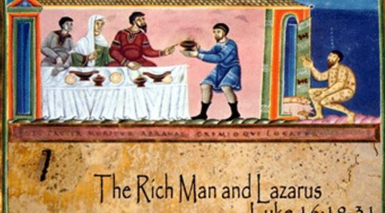 Lazarus and the Rich Man - Luke 16:19-31