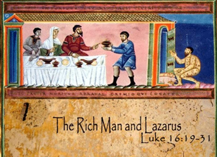 Acts 2:42 Church » Small Church with Mega Love » Lazarus and the