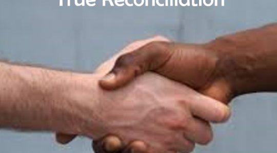 True Reconciliation - Genesis 45:1‐8