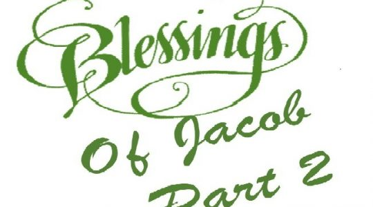 Jacob's Blessings and Curses Part II – Genesis 49: 8-12