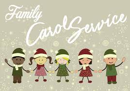 Dec. 23 @ 10:30 a.m. - Family Carol Service (a time for families to come fwd and sing - all are welcome)