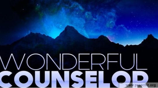 Wonderful Counselor - April 15, 2018